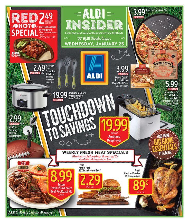ALDI USA In Store Ad Circular January 25 - 31 #Grocery #Aldi