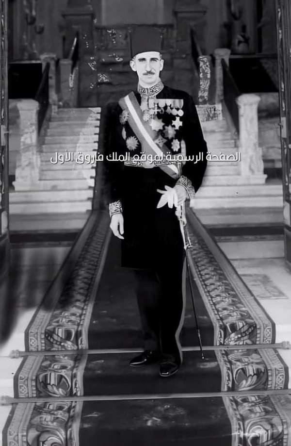 صورة نادرة لأحمد باشا حسنين مرتديا بدلة التشريفة بعد توليه منصب رئيس الديوان الملكي قصر عابدين Egypt History Egypt Royal Family