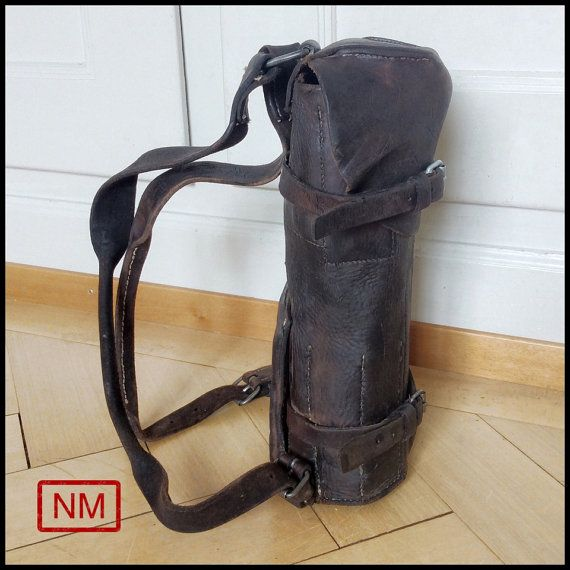 Vintage Swiss Army Backpack for Keeping by NaturaMachinata on Etsy