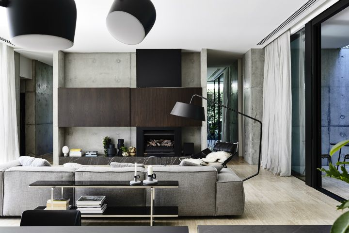 Stoic Style interior In Grey