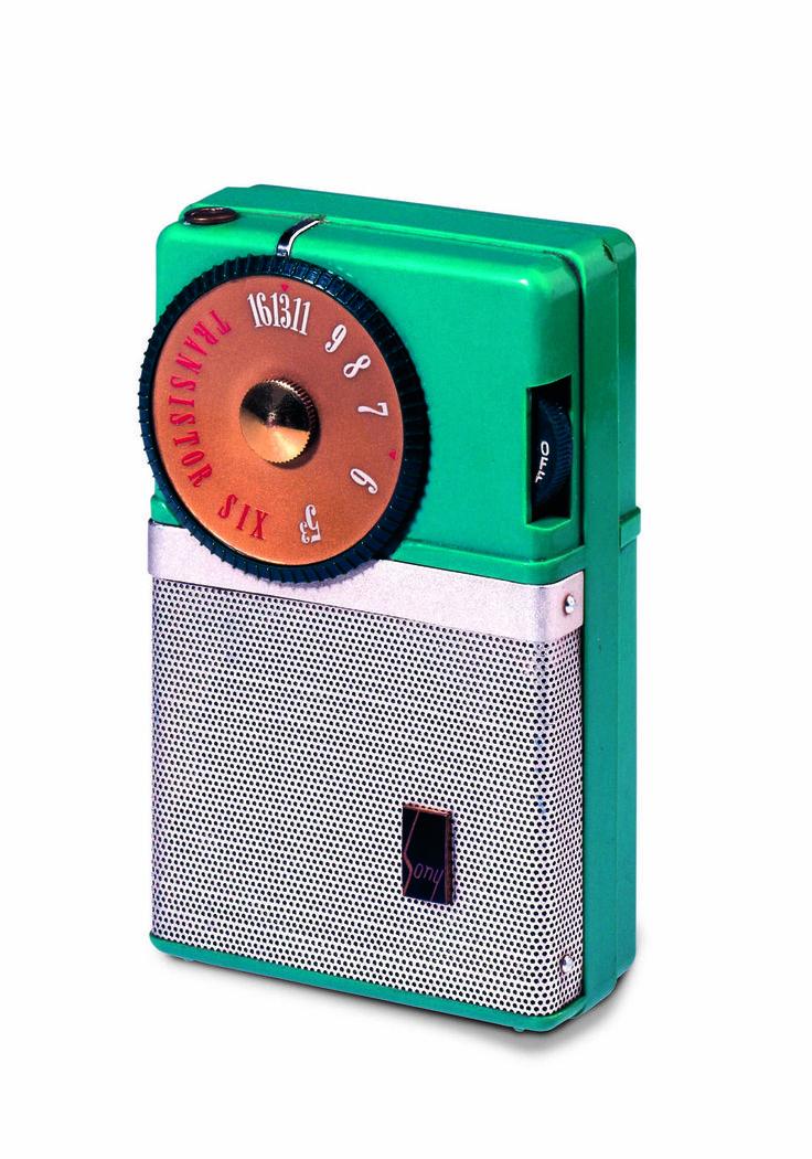 Sony's pocket TR-63 radio, 1957