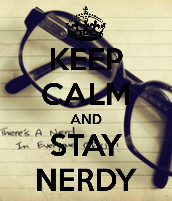 Nerdy.....