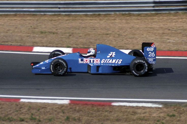 1990 Hungaroring  Ligier JS33B - Ford (Philippe Alliot)