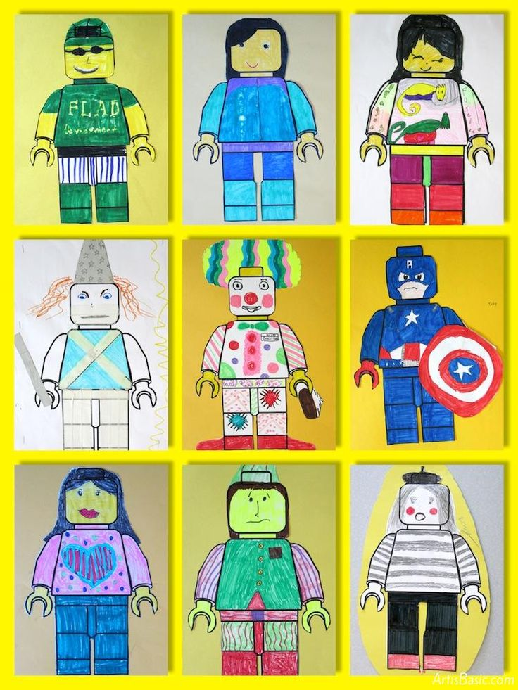 Lego Art Projects