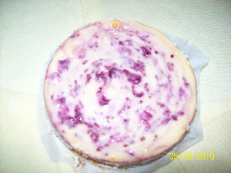 My Rasberry White Chocolate Cheesecake!!   www.rachaelscheesecakes.yolasite.com