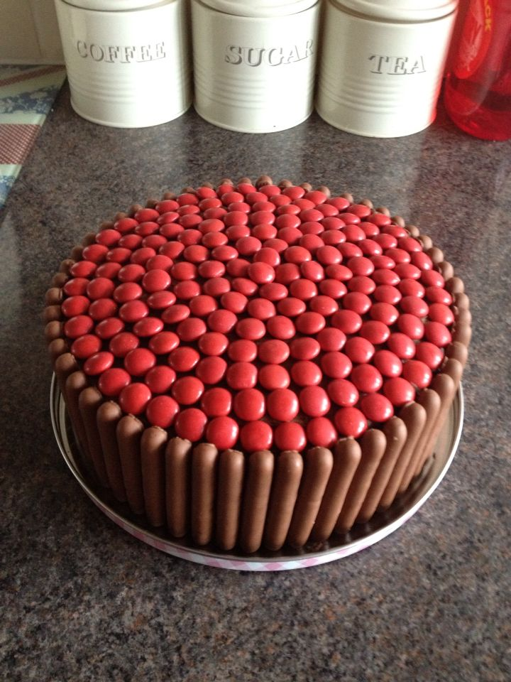 Red Nose Day Cake