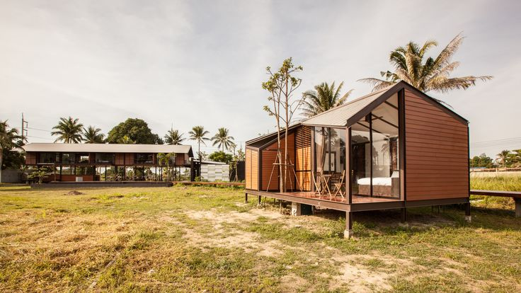 Completed in 2013 in Hua Hin, Thailand. Images by Spaceshift Studio. Baan Suan Mook is a small resort in the midst of pineapple field on the Hin Lek Fai hill, Hua Hin. The resort is surrounded by a countryside...