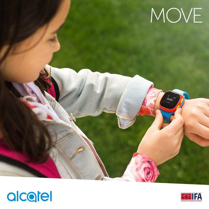 El nuevo reloj #MOVE te ayuda a monitorear a tu pequeño ya que cuenta con GPS tracker y puede almacenar 10 contactos predeterminados en caso de alguna emergencia. #AlcatelmobileIFA #IFA2016 http://bit.ly/2bI1PjN