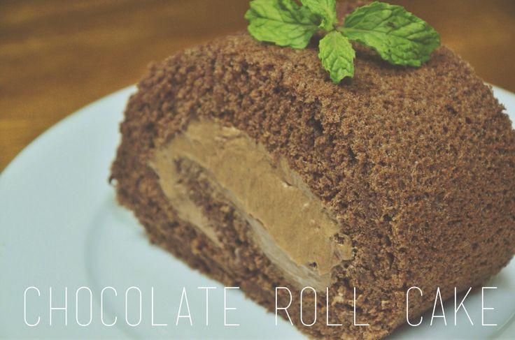 #chocolate #rollcake