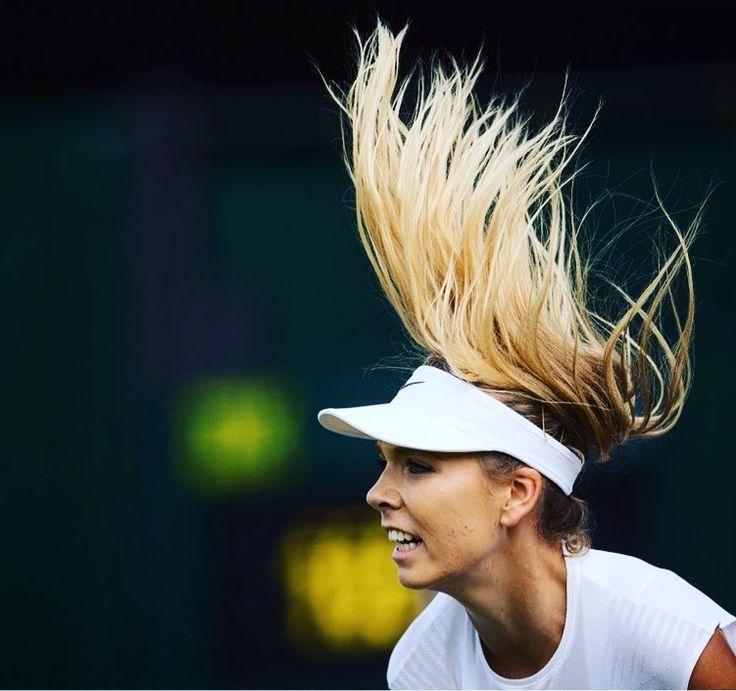 """Wimbledon no Instagram: """"Hair-raising stuff... #Wimbledon #tennis #sport #instasport"""""""