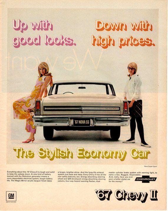 Chevrolet Energetic Original Vintage 1963 Chevy Ii Sales Brochure Chevrolet Advertising Car Auto Automobiles