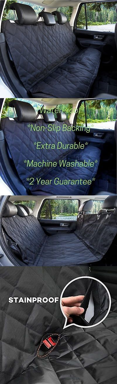 Car Seat Covers 117426: Waterproof Pet Car Seat Cover For Dogs - Universal Fit For Most Cars Truc... New -> BUY IT NOW ONLY: $34.61 on eBay!
