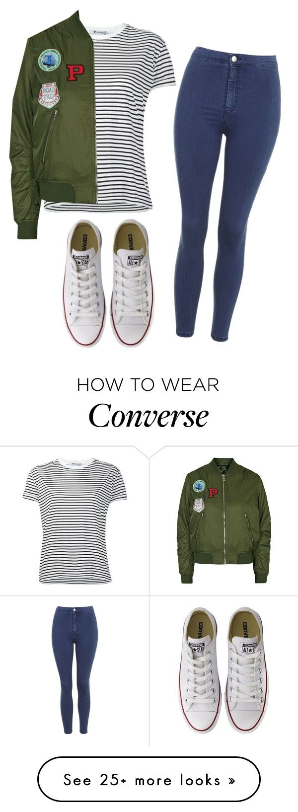 """#No name"" by eemaj on Polyvore featuring T By Alexander Wang, Topshop and Converse"