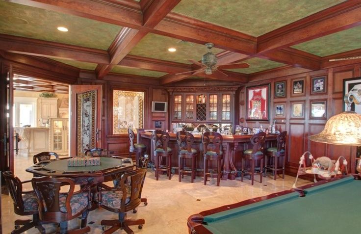 luxurIOUS  man caves | Luxury man cave | For the Home/ building designs/ interiors