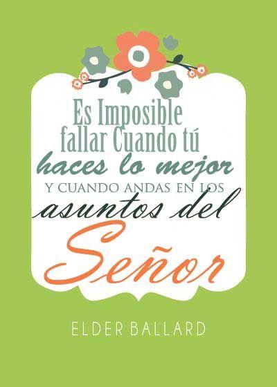 Es imposible fallar