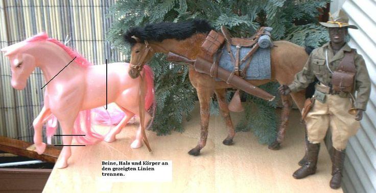 1/6 Actionfiguren Deutschland Forum - Tips und Tricks - Körper und Körperumbauten - Barbie Pferde
