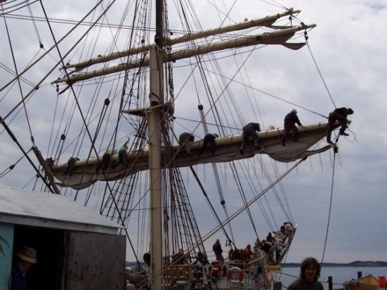 Remembering Tall Ship Sailing aboard the Picton Castle #PictonCastle