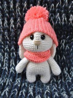patrón de amigurumi adorable conejito
