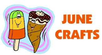 Seasonal Arts and Crafts for the Month of June: June's Special Days: activities, arts and crafts: KinderArt