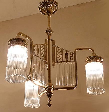 ... Art Deco Kroonluchter op Pinterest - Deco, Plafondlampen en Lampen