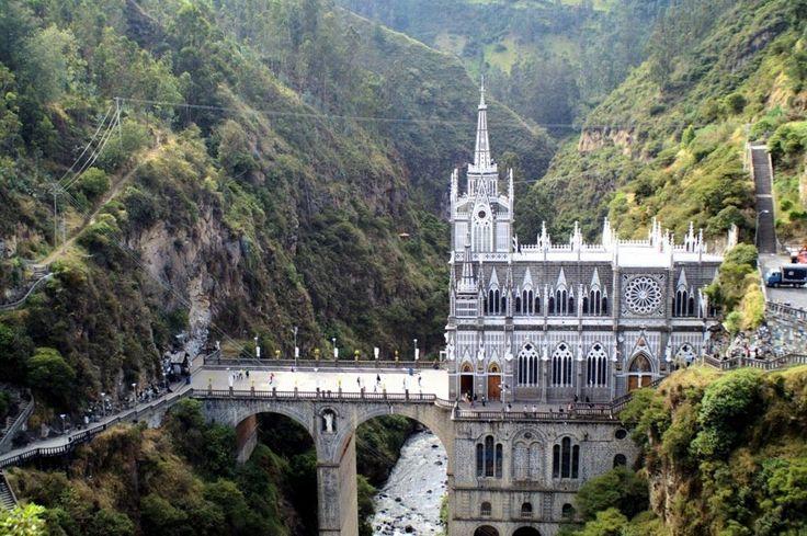 Porque el Santuario de Nuestra Señora de las Lajas te regala la paz que necesitas en tu vida: