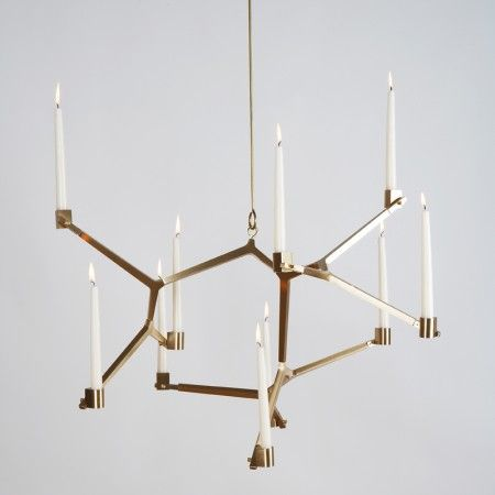 via BKLYN contessa :: future perfect :: lindsey adelman :: agnes hanging candelabra :: $5000: Lights, Agnes Hanging, Candle, Lighting, Chandeliers, Lindsey Adelman, Agnes Candelabra, Hanging Candelabra