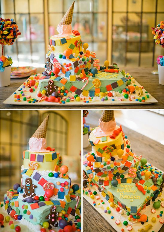 candyland themed birthday party cakes pinterest themed baby