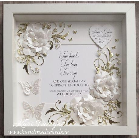 Handmade Floral Frame – FF001