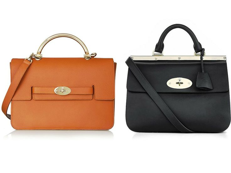 Mulberry Yellow and Black Holiday 2013 Bag