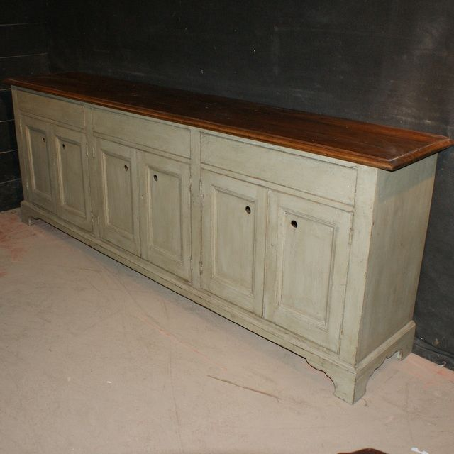 Narrow Dresser Base Long Antique Painted Pine 1850 Furniture Pinterest And