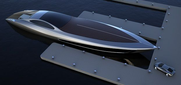 strand craft 122 concept yacht supercar - and boats