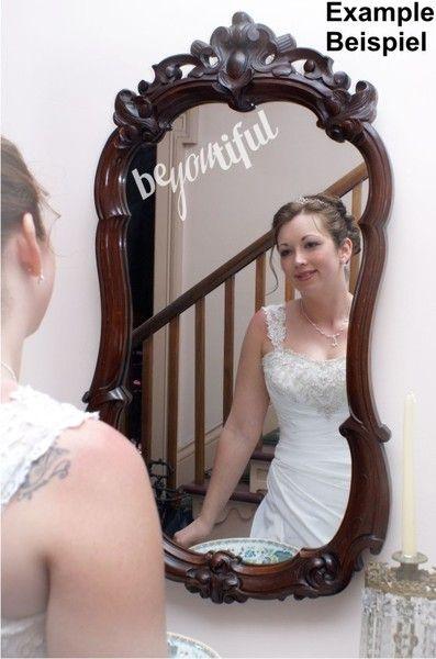 beYOUtiful - Spiegel-Tattoo - Milchglaseffekt von DOON Germany auf DaWanda.com
