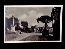 RPPC- Rome c1920 Via Appia Antica - Dirt Hwy & Old Car VTG Real Photo…