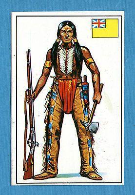 ARMI E SOLDATI - Edis 71 - Figurina-Sticker n. 195 - INDIANO IROCHESE -Rec