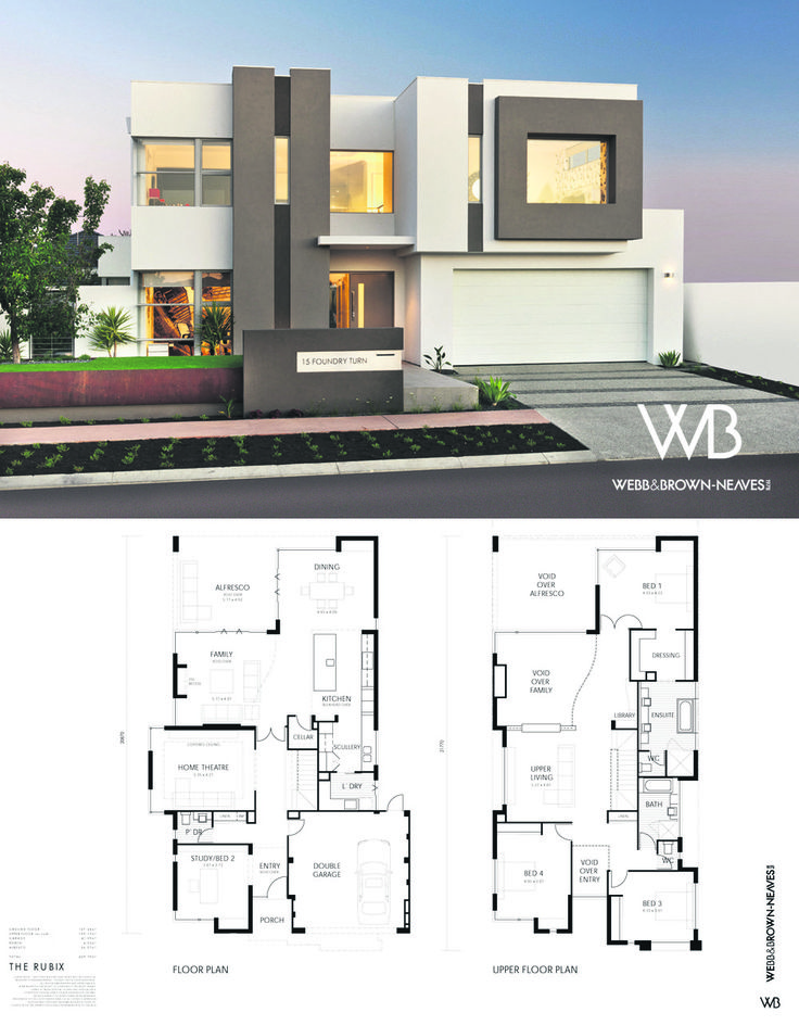 The Rubix by Webb and Brown-Neaves. Visit it at 15 Foundry Turn, Harrisdale or http://www.wbhomes.com.au