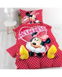 FUNDA DE EDREDON DisneyMinnieenelAmor140x 200Rojo|DS-8718924908846