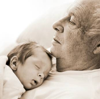 Connecting generations - grandparent photos