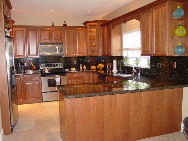 Kitchen Remodel Ideas Uba Tuba Granite Countertops Wood