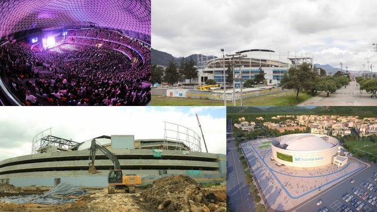 Así avanzan las obras del nuevo Movistar Arena de Bogotá  Colombia abrir...