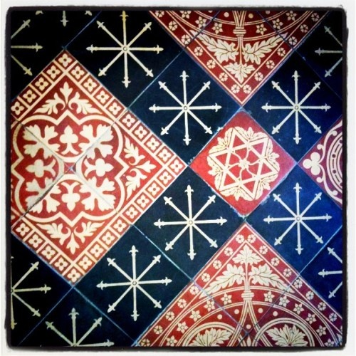 Georgian floor tiles