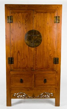 Asian Antique Armoire Cabinet asian-armoires-and-wardrobes