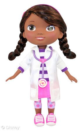 Doc McStuffins Check-up Doll will be available for Christmas and Clara will be so happy!