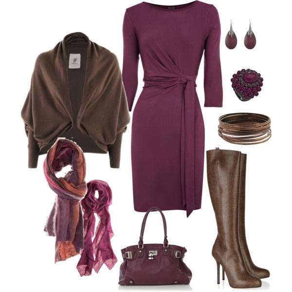 I love a simple, beautiful wrap dress - love the color!