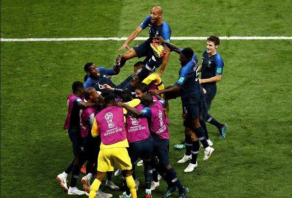 Football World Cup Russia 2018 France Win 2018 Fifa World Cup With Victory Over C World Cup World Cup Champions Fifa