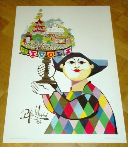 Bjorn Wiinblad Tivoli poster