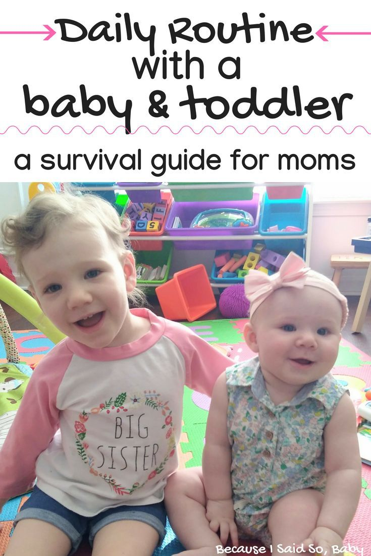 How to Manage a Baby and Toddler as a Stay-at-Home Mom