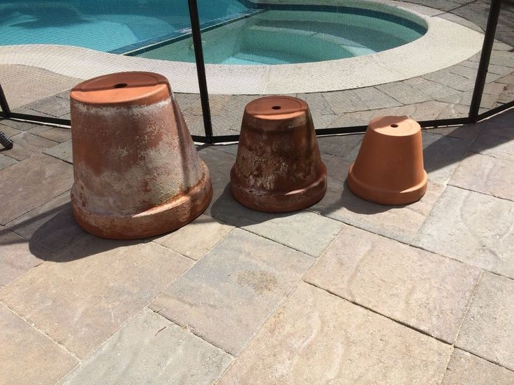 We've seen this project before, but I thought I'd try my hand at it since I had these pots that were in rough shape. If it didn't work out, no problem because I…