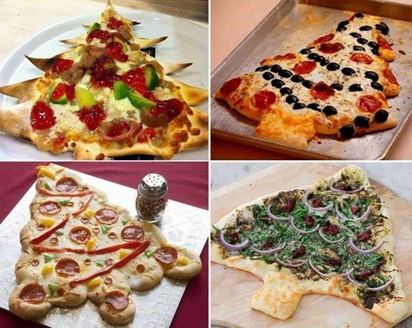 Christmas Tree Pizza Recipe