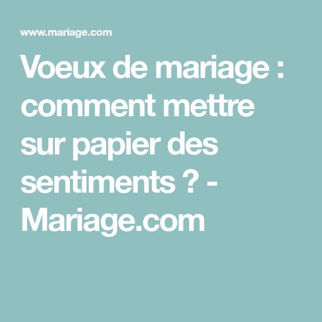 Voeux de mariage : comment mettre sur papier des sentiments ? - Mariage.com