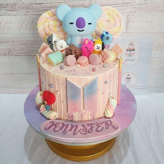 Bt21 Cake Recommendations Em 2020 Design De Bolo Bts Aniversarios Bolos De Aniversario
